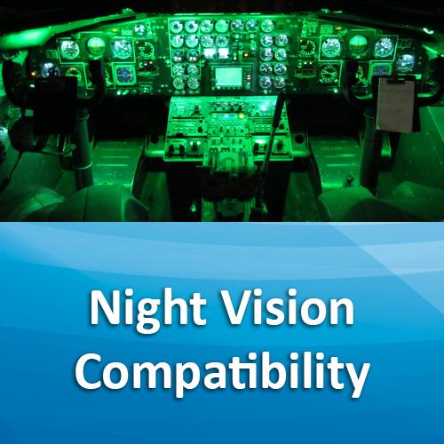 night vision compatibility
